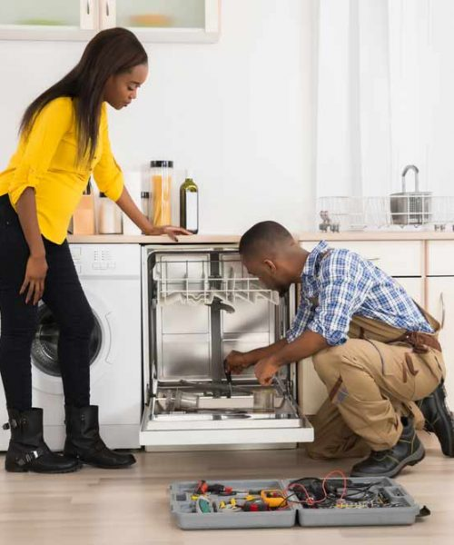 appliance repair of dishwasher